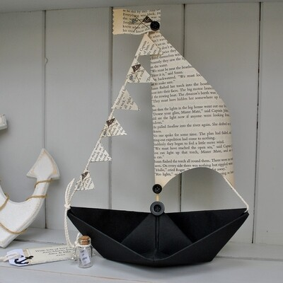 Swallows & Amazons Sail Boat Card