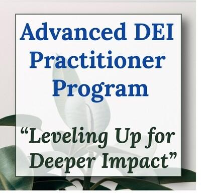 Advanced DEI Practitioner Virtual Program
