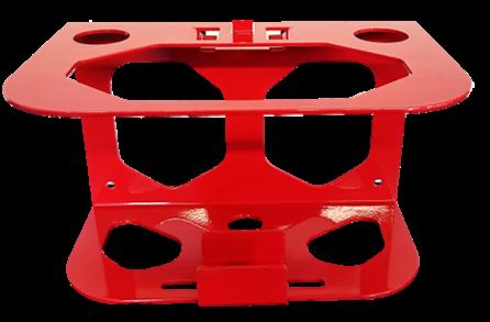 X-Tinguish® X-Treme wallmount bracket with bracket lock