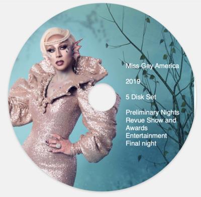 Miss Gay America 2019 5 Disk Set