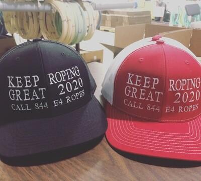 Make Roping Great Again Caps