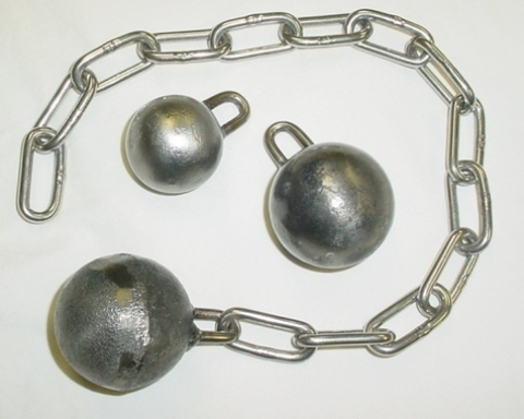 CBT Weights, steel balls