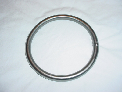 "6 Inch Steel Ring 1/2"" diameter steel"