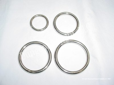 Chrome Plated Steel Rings
