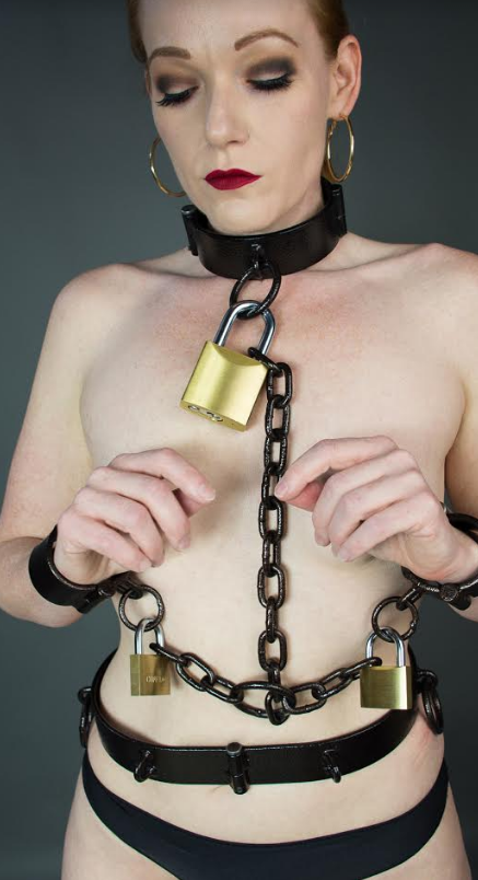 Custom Made Bondage Belt.