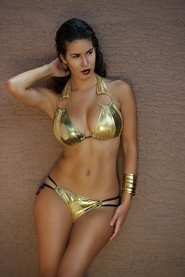 Gold Two Piece
