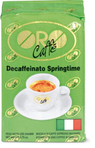 DECOFFEINATO  (Vakuum verpackt)  250  Gr
