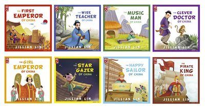Set: 8 books from the 'Heroes Of China' series