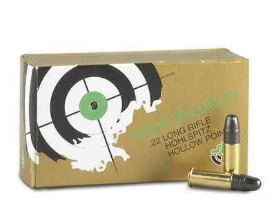 SK, .22LR, Lead Hollow Point, 40 Grain, 50 Rounds
