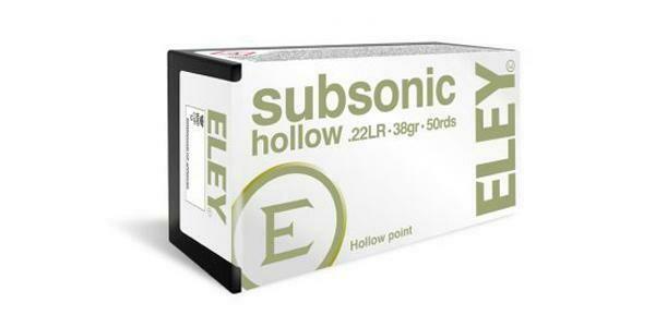 Eley Subsonic