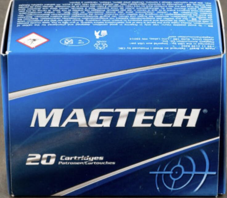 454 Casull Magtech 260gr. SJSP Ammo 20 Rounds