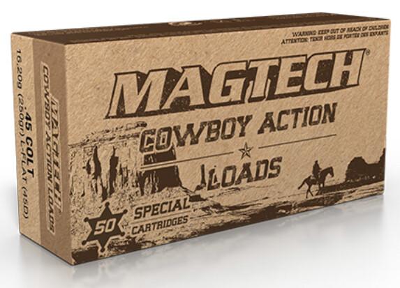 Magtech .45 Long-Colt Ammo  - 250gr LFN Box of 50 Rounds