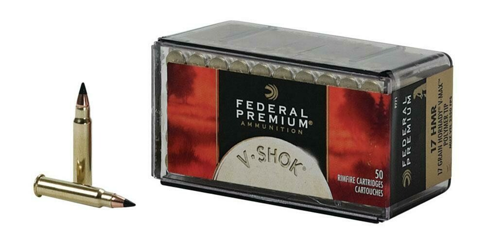 Federal V Shok - .17hmr Polymer Tip Box of 50 rounds