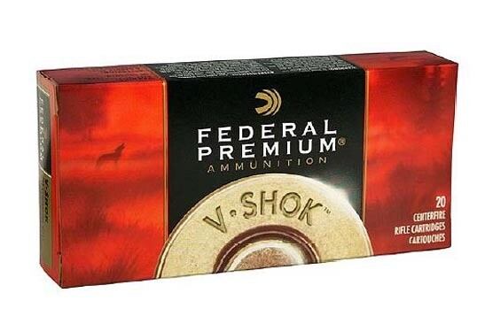 FEDERAL PREMIUM 220/52G VSHOK SIERRA BOAT TAIL HOLLOW POINT (20)