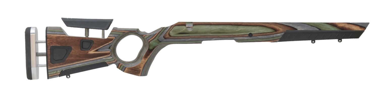 BOYDS GUNSTOCKS AT-ONE THUMBHOLE, RUGER® 10/22® FOREST CAMO LAMINATE