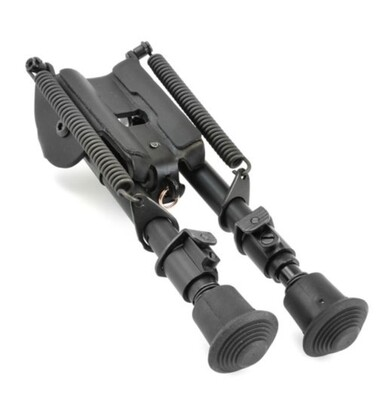 Harris Engineering Model BRM Series 1A2 6-9in. Bipod 1A2-BRM Height: 6 - 9, Weight: 10 oz