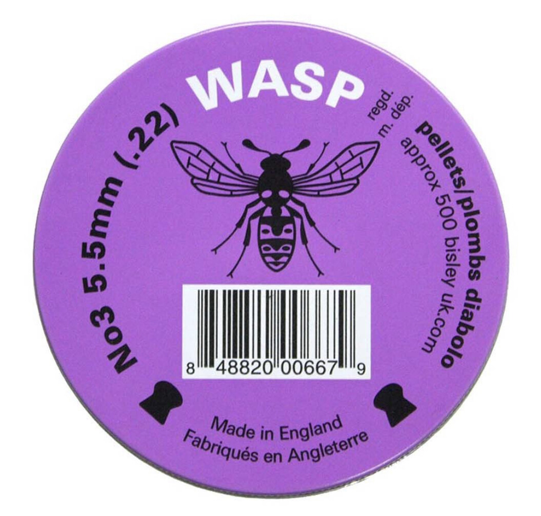 Eley Wasp 22 Pellets, Domed Head