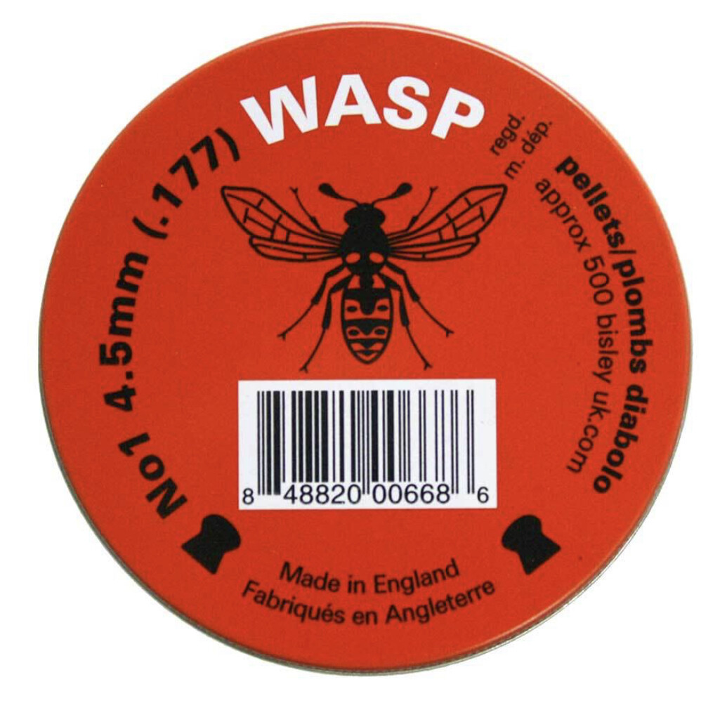Eley Wasp .177 Pellets, Domed Head