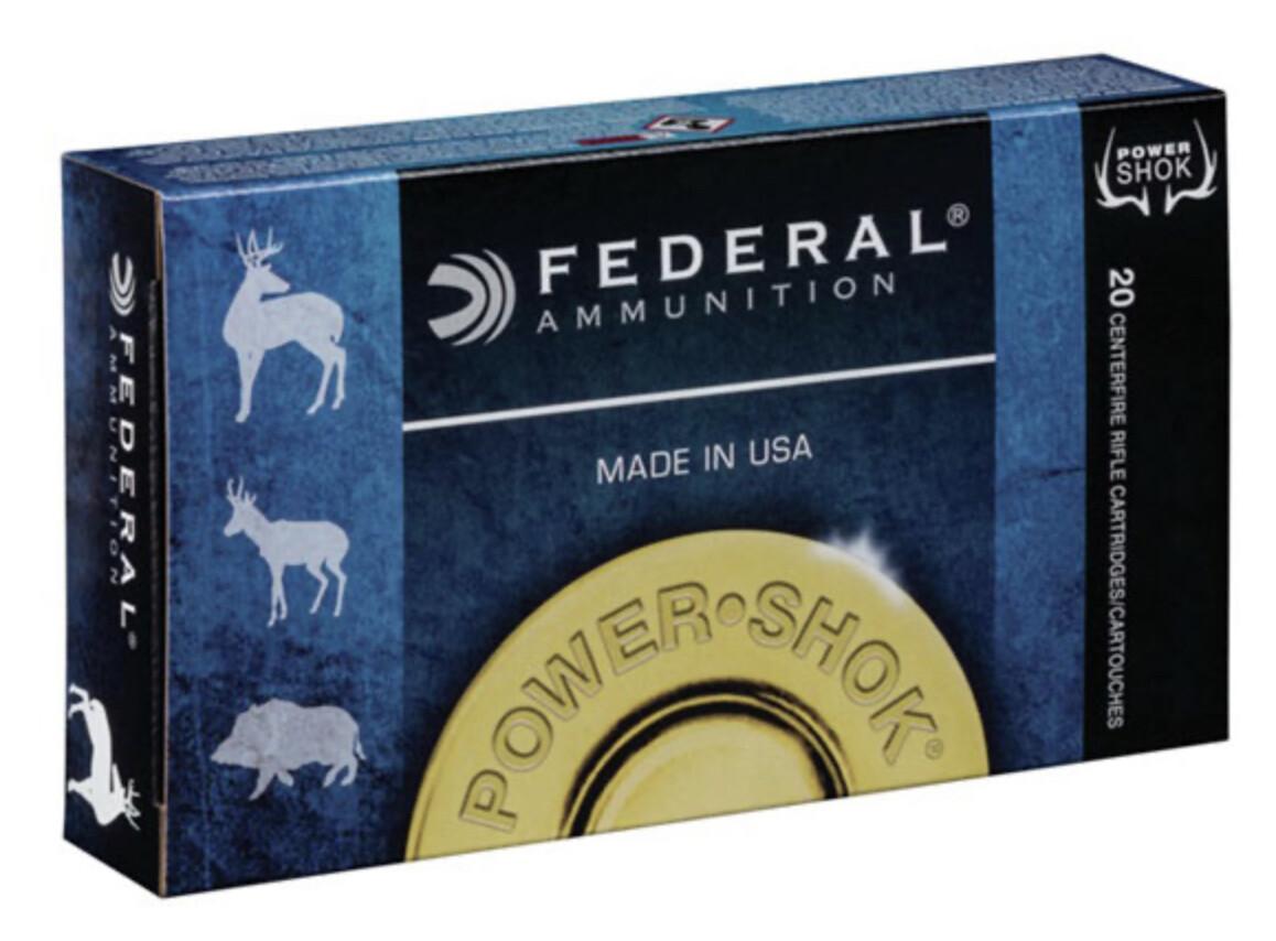 Federal 6.5 Creedmoor 140 Grain Power Shok JSP Box of 20 Rounds