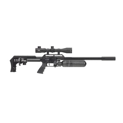 FX Airguns MKII Sniper Edition Black FAC PCP Air Rifle .22, .25, 30, .35