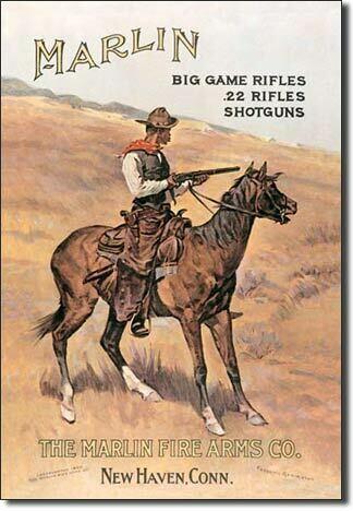 Marlin / Cowboy on Horse