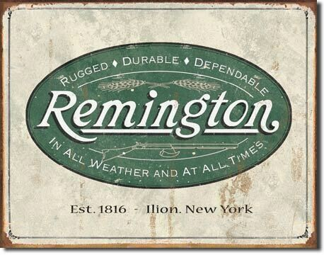 Remington -Weathered Logo