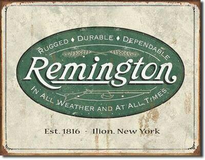 Remington -Weathered Logo