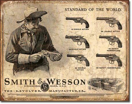 S & W Revolver Manufacturer