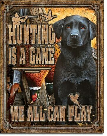 Hunting is a Game