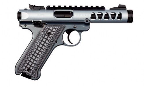 "Ruger 43922 Mark IV 22/45 Lite 4.4"" .22LR Diamond Gray Anodized TB"