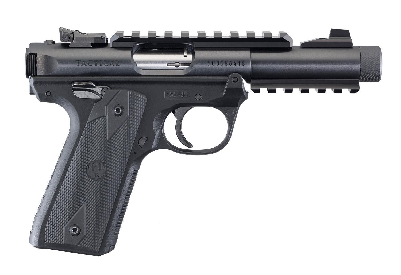 """Ruger 40149 Mark IV 22/45 Lite 4.4"""" .22LR Tactical"""