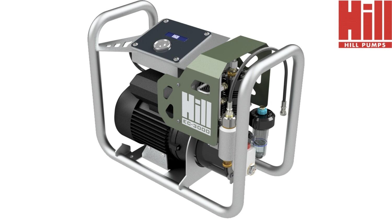 Hill EC-3000 Electric Air Compressor.