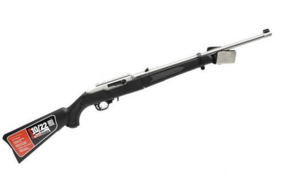 RUGER 10/22 TAKEDOWN AUTOLOADING RIFLE, STAINLESS STEEL