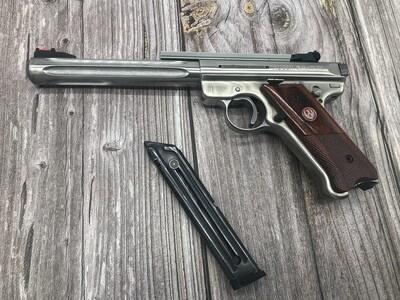 """Ruger MK3  6""""  5/8 inch barrel. .22Lr pistol pre owned"""