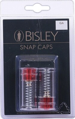 Bisley snap caps 12 & 20 gauge  (Pack of 2)