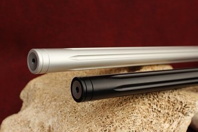 KIDD .22LR Lightweight Fluted Aluminum Sleeved Rifle Bull Barrel threaded 16.5 inch