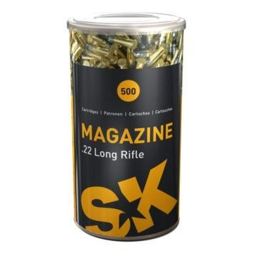 SK MAGAZINE: .22 MAGAZINE 40GR 500 Round Tin Can