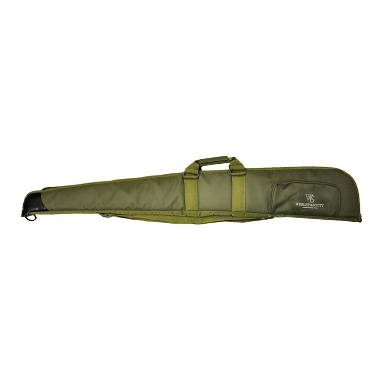 "Webley & Scott Branded Shotgun Slip 52"" Green"