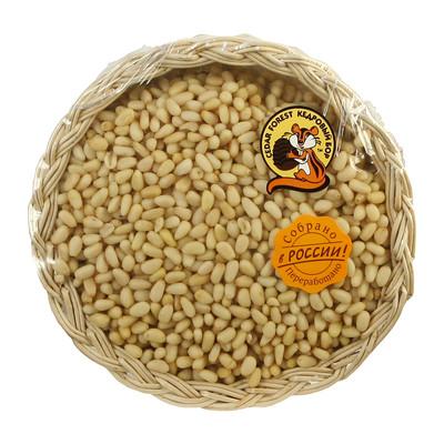 Кедровые орехи сибирские очищенные в подарочной упаковке 300г