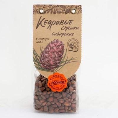 Кедровые орехи сибирские в скорлупе 100г