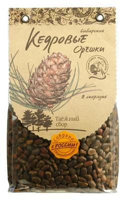Кедровые орехи сибирские в скорлупе 500г