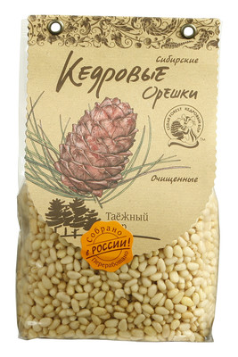 Кедровые орехи сибирские очищенные 500г