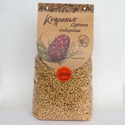 Кедровые орехи сибирские очищенные 1000г