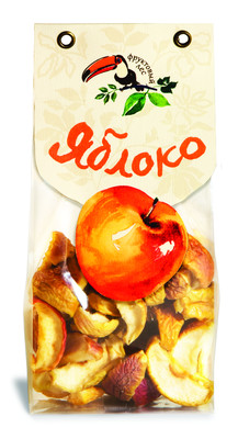 Яблоко сушеное резаное дольками 100г