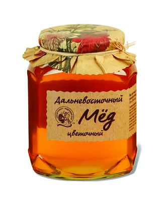 Мед дальневосточный цветочный 500г