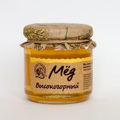 Мёд высокогорный 245г
