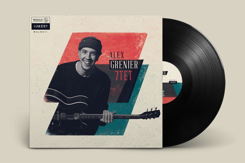 Alex Grenier / 7TET // 33T vinyl 7 Tracks* 2019