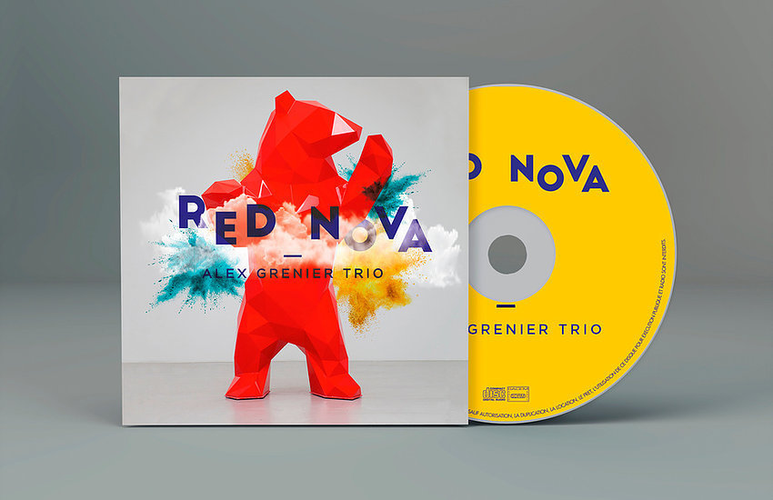 Alex Grenier / Red Nova // Audio CD 4 Tracks* 2018
