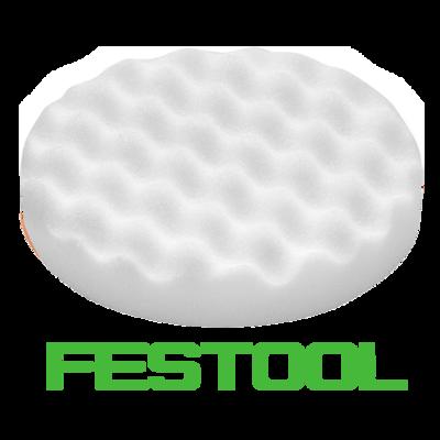 Полировальник Festool белый рифленый 150мм