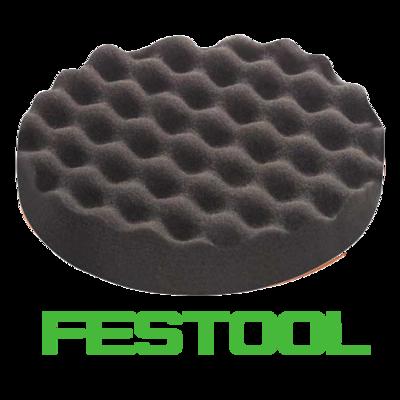 Полировальник Festool черный рифленый 150мм